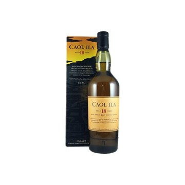 Caol Ila Islay Single Malt 18 Years Old