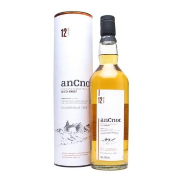 An Cnoc 12 Years Old Highland Single Malt Whisky