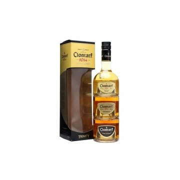 Clontarf Trinity 3 in 1 fles Irish Whiskey