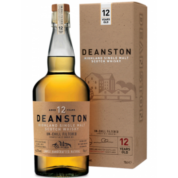 Deanston 12 Years Old Highland Single Malt Whisky